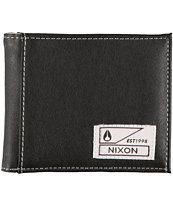 Nixon Block Black & White Bifold Wallet