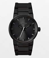 Nixon Cannon All Black Analog Watch