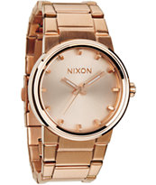 Nixon Cannon Rose Gold Analog Watch