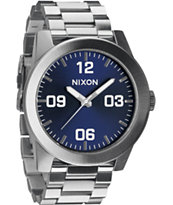 Nixon Corporal SS Blue Sunray Watch