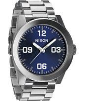 Nixon Corporal SS Blue Sunray Watch