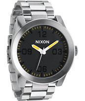 Nixon Corporal SS Grand Prix Analog Watch