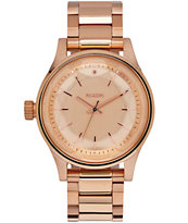 Nixon Facet 38 All Rose Gold Watch