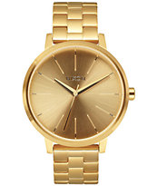 Nixon Kensington All Gold Analog Girls Watch