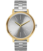 Nixon Kensington Gold & Silver Watch