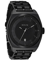 Nixon Monopoly All Black Analog Watch