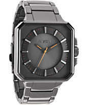 Nixon Platform Steel Grey Analog Watch