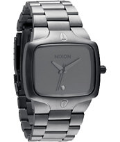 Nixon Player Matte Black & Matte Gunmetal Guys Watch