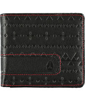 Nixon Showoff Guardsman Black Bifold Wallet