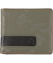 Nixon Showoff Surplus & Black Camo Bifold Wallet