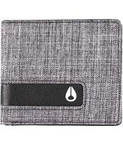 Nixon Showoff Washed Black Bifold Wallet