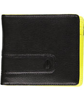 Nixon Showtime Black & Lime Bifold Wallet