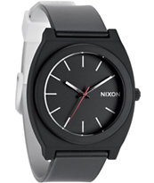Nixon Time Teller P Black & White Fade Analog Watch
