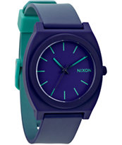 Nixon Time Teller P Purple To Teal Fade Analog Watch