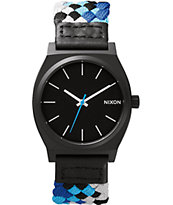 Nixon Time Teller Woven Analog Watch