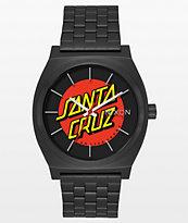 Nixon Time Teller X Santa Cruz Black Watch