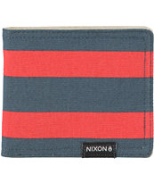 Nixon Tree Hugger Navy & Red Bifold Wallet