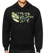 No Coast IL Windy City Camo Hoodie
