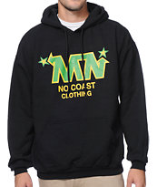 No Coast MN Star Black Pullover Hoodie
