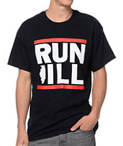 No Coast Run Ill Black Tee Shirt