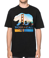 Nor Cal City Bear Tee Shirt