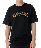 Nor Cal Goliath Black Tee Shirt