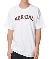 Nor Cal Goliath White Tee Shirt
