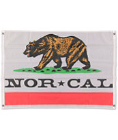 Nor Cal Rebulic White Flag