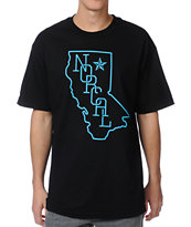 Nor Cal Rookie Black & Teal Tee Shirt