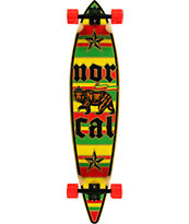 Nor Cal Rude Bear 43.5 Pintail Longboard Complete