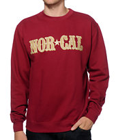 Nor Cal Rusher Crew Neck Sweatshirt
