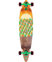 "Nor Cal Treeline 43.5"" Pintail Longboard Complete"