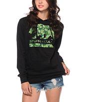 Nor Cal Weed Leaf Bear Hoodie