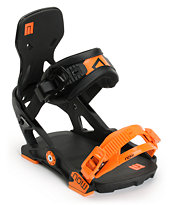 Now IPO Black Snowboard Bindings