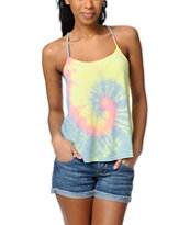 O'Neill Side Step Tie Dye Tank Top