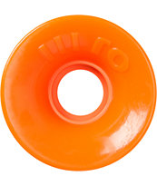OJ III Hot Juice 60mm Bright Orange Longboard Wheels