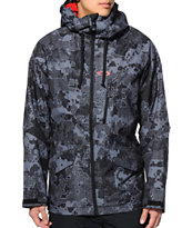 Oakley Mission Black 10K 2014 Snowboard Jacket