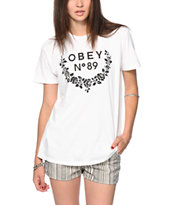 Obey 89 Wreath Tee Shirt