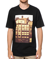Obey All-City Icon Photo Black Tee Shirt