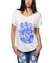 Obey All Seeing Palm Modern Dolman Tee