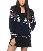 Obey Alrik Cardigan Sweater