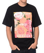 Obey Always Never Black Tee Shirt