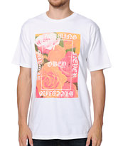 Obey Always Never White Tee Shirt