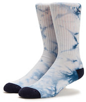 Obey Aquarius Light Indigo Crew Socks