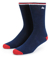 Obey Association Crew Socks