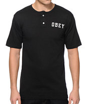 Obey Athletic Dept Henley T-Shirt