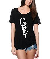 Obey Azalea Font Beau T-Shirt