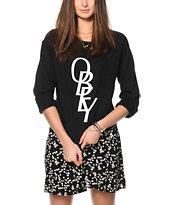 Obey Azalea Font Crew Neck Sweatshirt