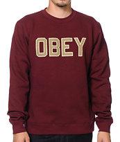 Obey Belton Crew Neck Sweatshirt