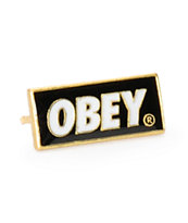 Obey Black Standard Issue Pin